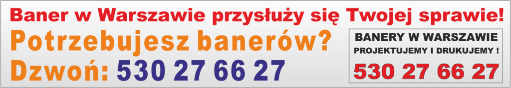 Banery Warszawa